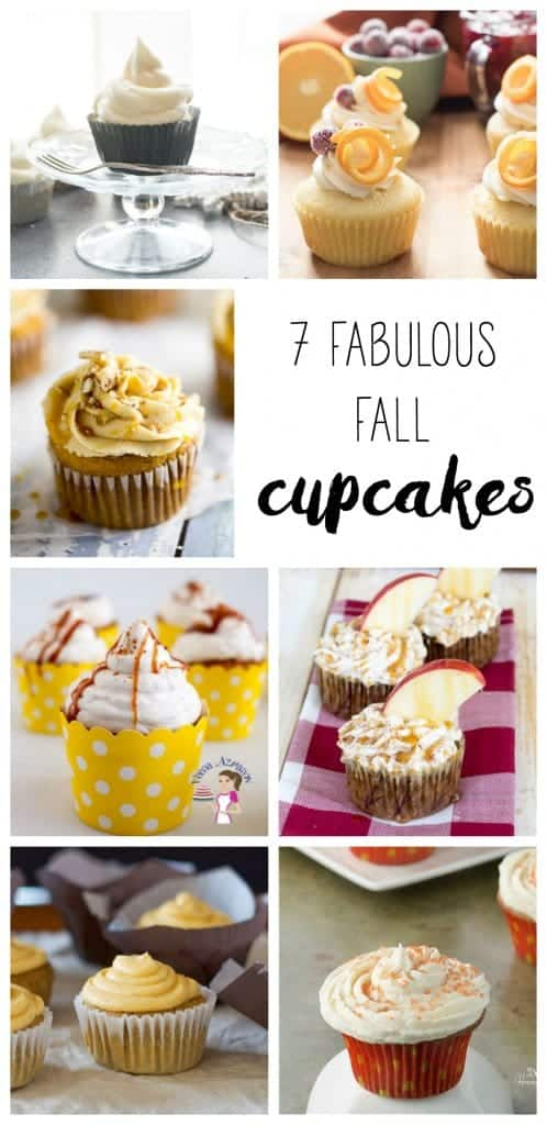 6 Vanilla Almond Cupcakes are a delicious, fast & easy Cupcake dessert recipe. A Creamy Maple Cream Cheese Frosting make them irresistible.