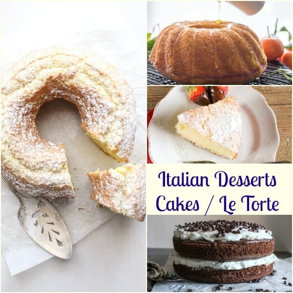 Italian Desserts from cookies to pastries, creamy cakes and fast and easy no bake recipes. Tiramisu, semifreddo and everything in between. Enjoy!