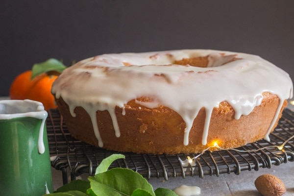 glazed mandarin orange cake