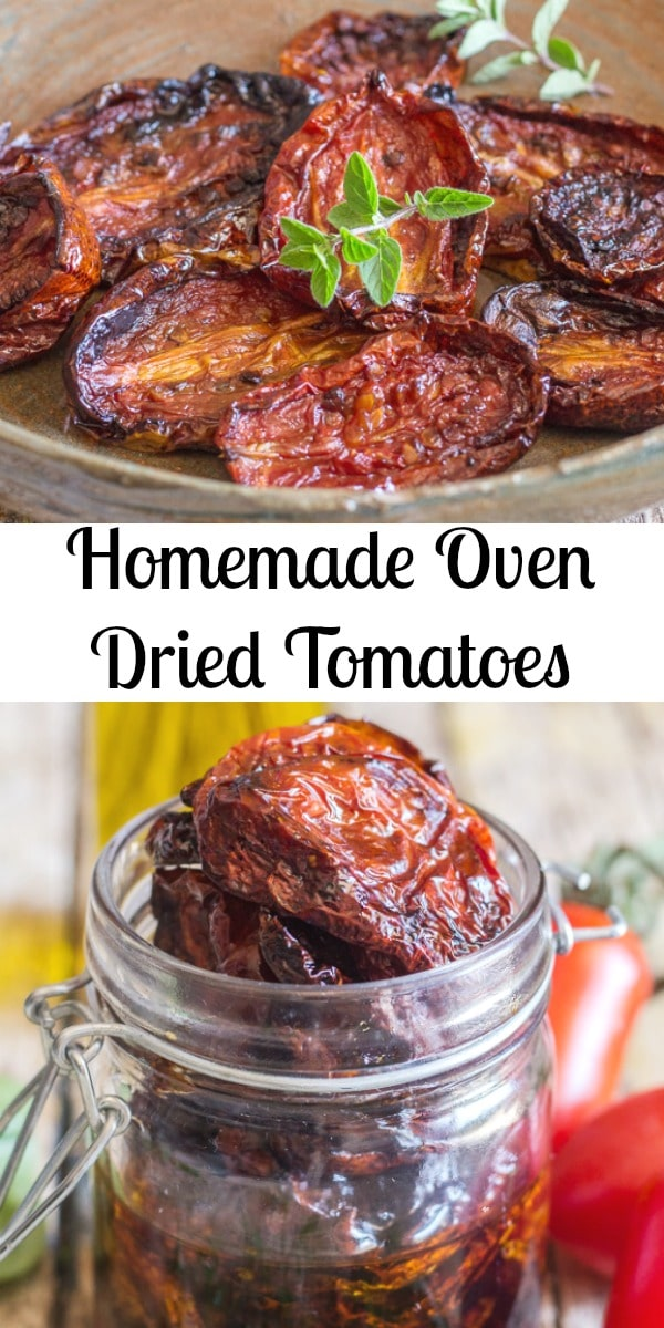 Oven Dried Tomatoes, how to make Homemade Oven Dried Tomatoes delicious and easy, tossed with olive oil and fresh spices. Gluten free. #sundriedtomatoes #tomatoes #appetizers #summerrecipe #Italianrecipe