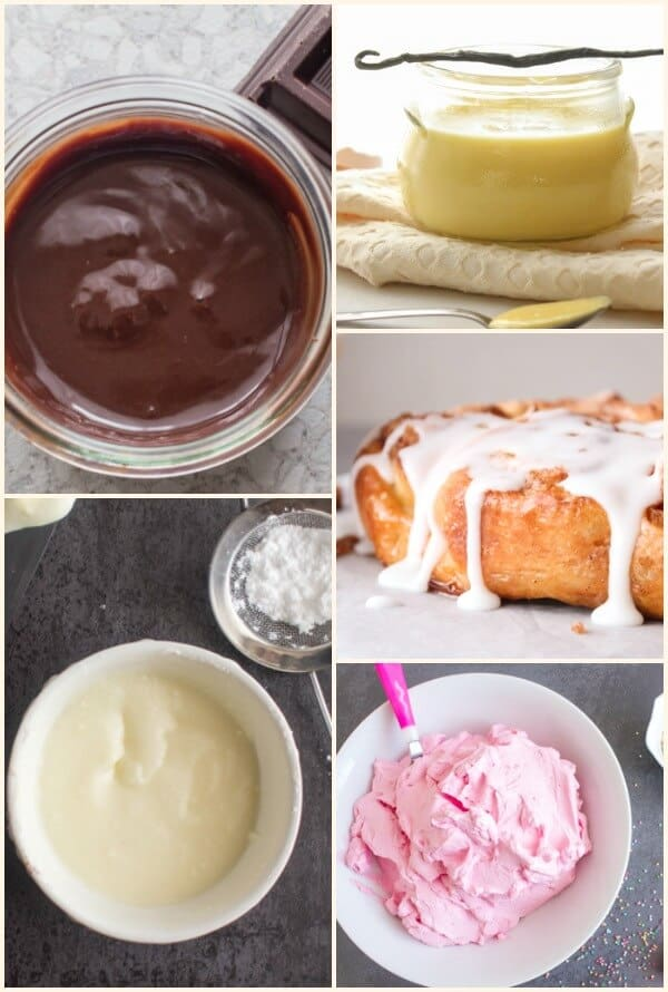 Fast Easy Fillings Frostings and Glazes a few must have recipes for putting the finishing touches on cakes, cookies and other sweet treats.