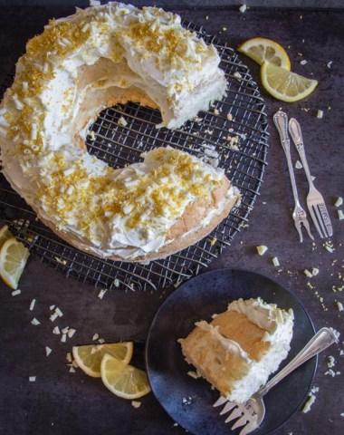 Lemon Tiramisu Cake, white chocolate, whipped cream and mascarpone make this no egg Tiramisu Cake Recipe perfectly delicious.