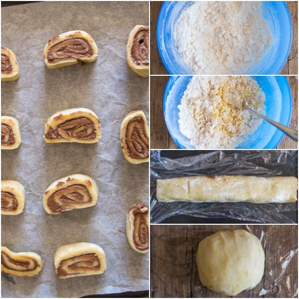 crunchy nutella no yeast roll ups 5 how to make photos,
