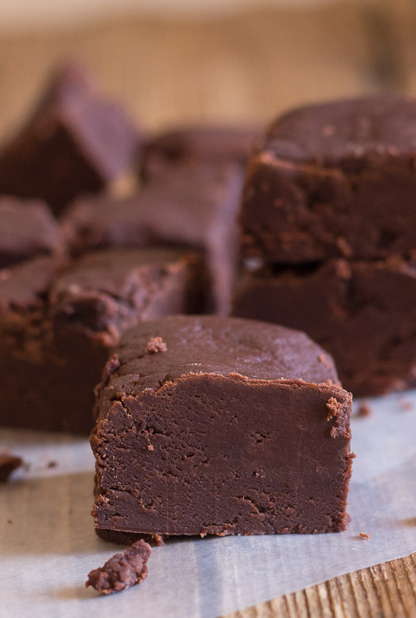 Old Fashioned Chocolate Fudge - An Italian in my Kitchen