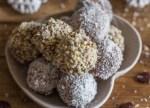 cookie truffles recipe in a bowl