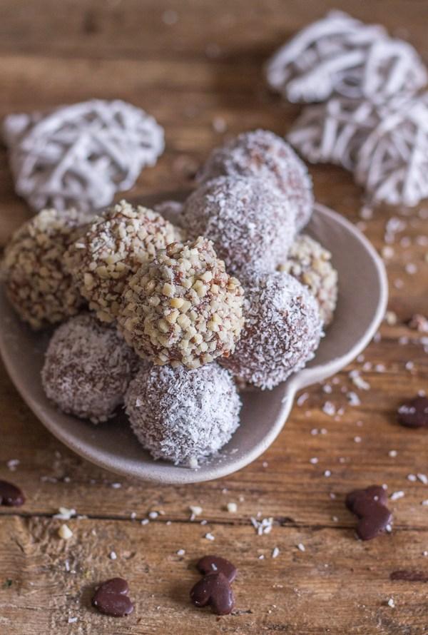Double Chocolate Cookie Truffles
