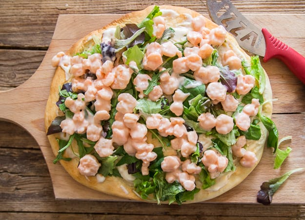 baked shrimp pizza recipe