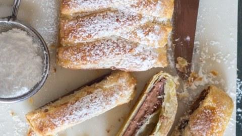 Chocolate Pastry Braid