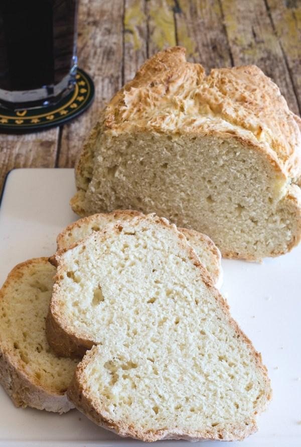 irish soda bread and 2 slices