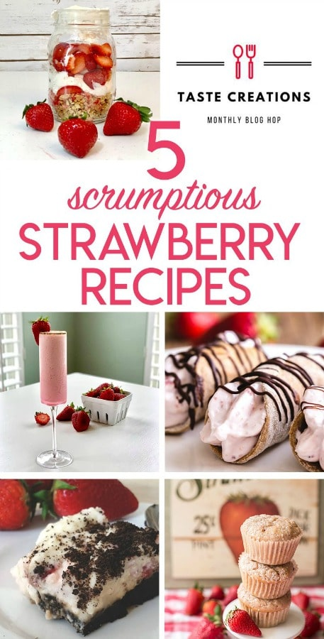 strawberry recipes for pinning