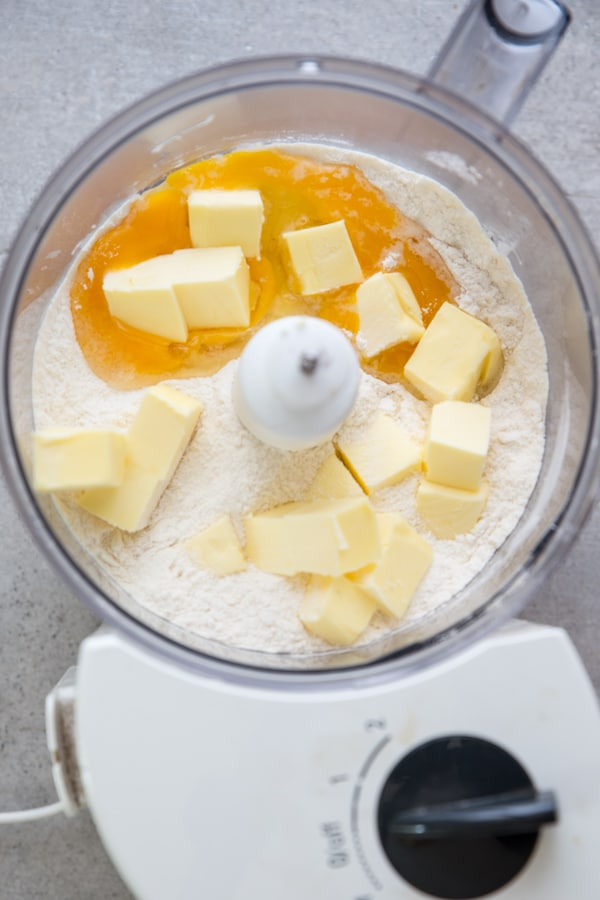 how to make pie crust with a food processor