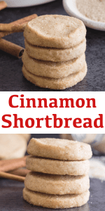 These easy and delicious slice and bake Cinnamon Shortbread Cookies are made even better with the addition of brown sugar. The perfect Holiday Cookie. #cinnamonshortbread #shortbread #shortbreadcookies #cinnamoncookies #Christmascookies #cookies