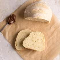 Homemade Rustic No Yeast Bread - An Italian in my Kitchen