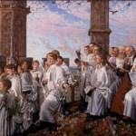 Choristers on May Morning, William Holman Hunt
