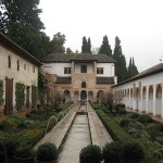 Generalife in the Alhambra and Granada