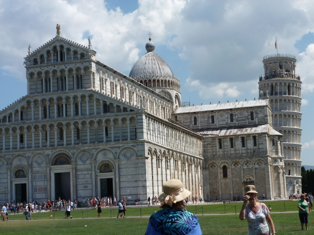 Pisa, Leaning tower and Duomo.