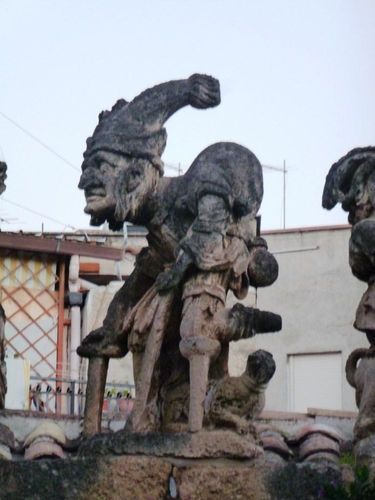 Hunchback (Wall around Villa Palagonia)