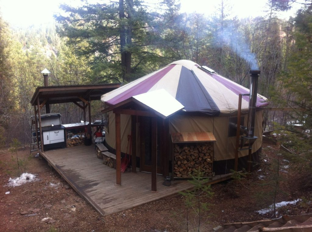 Why I Live In A Yurt Off The Grid On A Mountain In Idaho