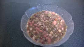 The seven beans to be turned into a stew