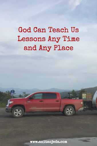 God can teach us lessons any time and any place--even at the top of the world. #BGBG2 http://wp.me/p7W1vk-99