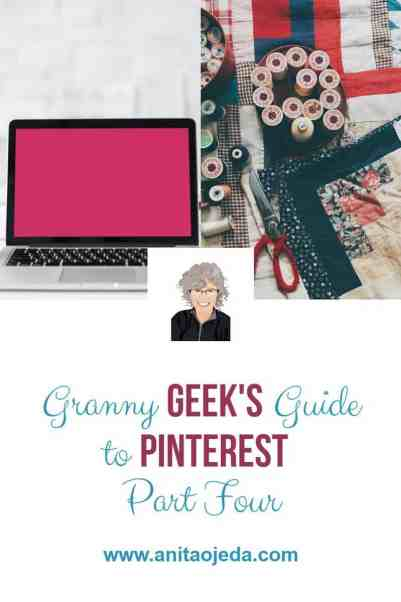 If you want to increase your traffic from Pinterest, you'll need to create a simple pinning strategy. #Pinterest #blogging #GrannyGeek