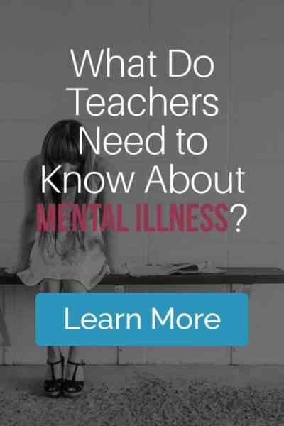 I need your help! If you could tell a roomful of educators what you wish they had noticed or done when you or someone you know struggled with a mental illness as an adolescent, what would you tell them? #mentalhealth #stopthestigma #bipolar