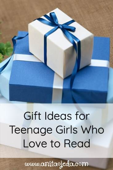 Looking for a great gift for a teenage girl that loves to read? Check out these books! #amreading #gifts #YA #inspirational #homeschool