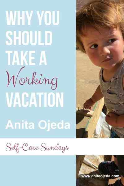 Worried about the term 'working vacation?' Don't be! Find out the how you can have a blast! #DIY #vacation #work