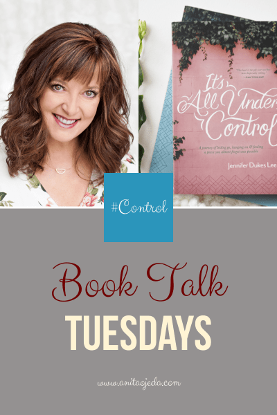 Has anyone ever called you a control freak? Maybe you're gripping too tightly and don't even know it. Check out It's All Under Control by Jennifer Dukes Lee #amreading, #control, #selfhelp