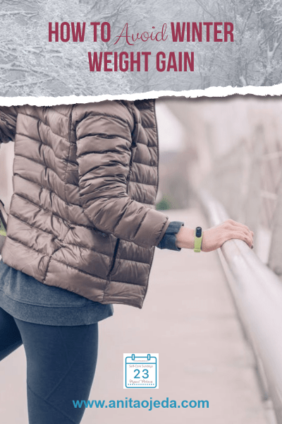 Want to avoid winter weight gain? Start planning now! Check out these strategies for goal-setting, healthy self-talk, and accountability. You CAN form new habits! #holiday #weight #health