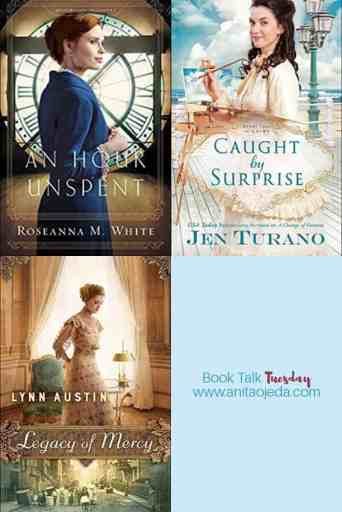 Do you need gift ideas for an avid reader of inspirational historical fiction? These three treats will fit the bill! Buy one, or all three--just make sure you actually give them away (you can always ask to borrow the book when the recipient finishes)! #bookreview #amreading #inspy #historicalficiton