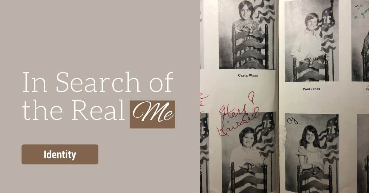 A chance encounter makes me realize that when I search for the real me, I just end up making myself over. But another search has led me to finding myself. My real self. #identity #facebook #search #gradeschool