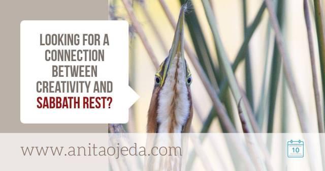 Creativity and Sabbath Rest
