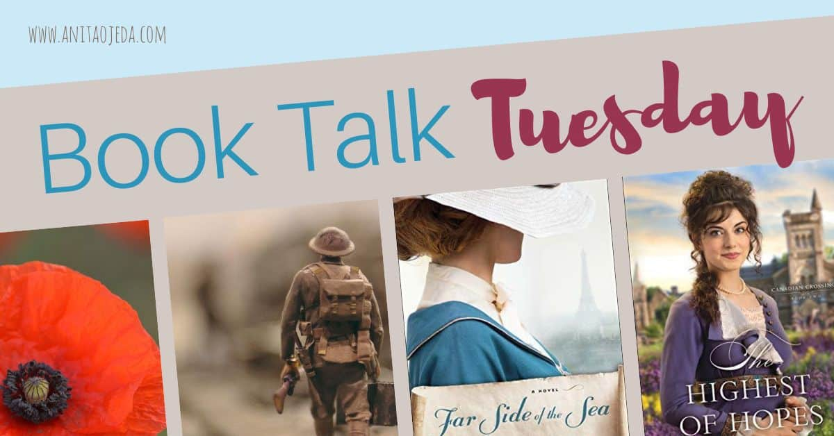 Looking for a historical read set against the backdrop of a World War I romance? Check out these two new inspirational novels! #amreading #WWI #inspirational #ficiton