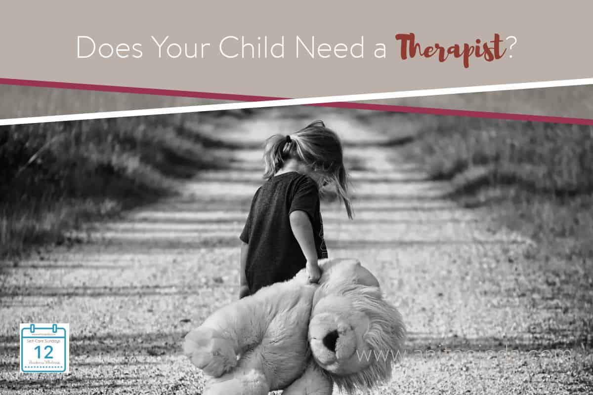 Seven signs your child needs a therapist that every parent should know. If we want to practice balanced self-care, we need to stay aware of the needs of our children. The greatest gift you can give your kids is the tools to ensure that they have good mental health. #mothersday #mentalhealth #4Mind4Body #therapist