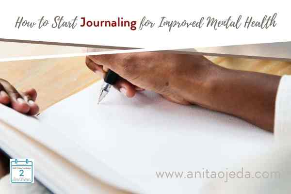Who would have thought that the diary of a Jewish girl would start me on a journey that taught me how to start journaling for mental health? You can learn how to start journaling and improve your mental health today! #SelfCareSunday #mentalhealth #journaling