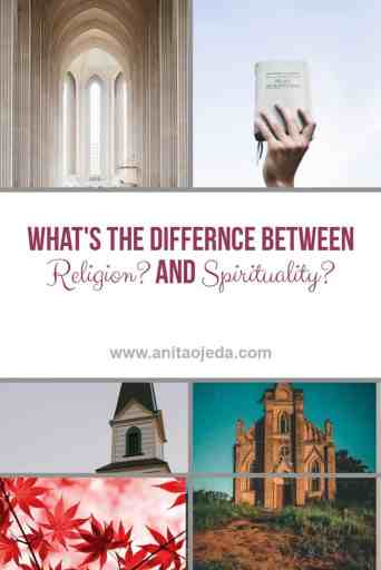 Understanding the difference between religion and spirituality allows us to understand spiritual self-care. And we all need to learn how to take care of ourselves spiritually! #SelfCareSunday #spirituality #religion #Christianity #sefcare