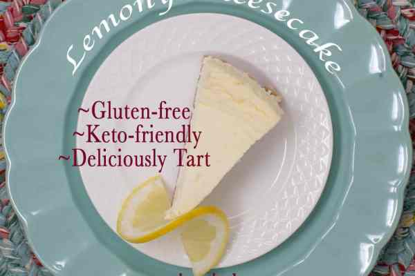 Looking for the perfect lemon cheesecake that almost everyone can enjoy? Check out this lemony cheesecake that uses erythritol as a sweetener. Which makes this recipe keto-friendly and gluten-free (and safe for diabetics). #keto #ketofriendly #diabetes #GF #glutenfree
