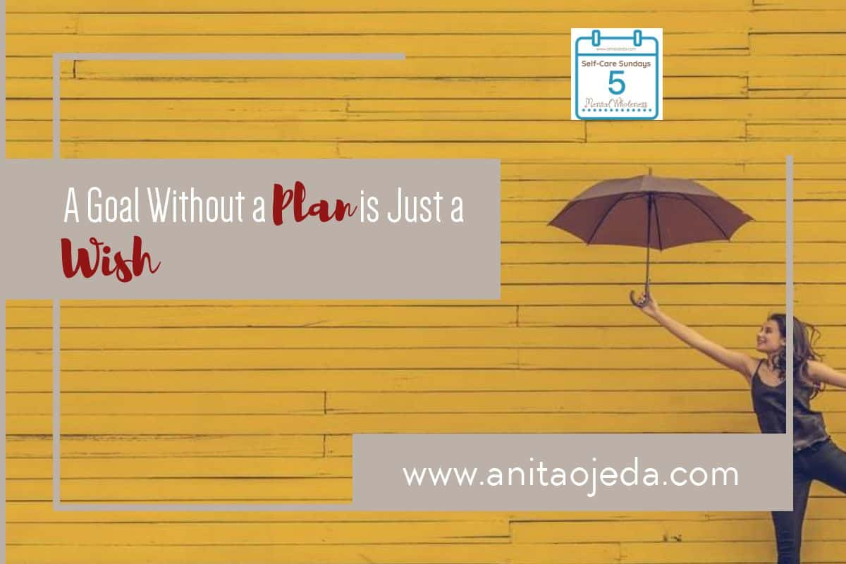 """board with the old adage painted on it hanging on your wall. """"A goal without a plan is just a wish."""" But what does it really mean? Can we actually plan for success with long-term goals? Do we ever plan for failure? #goals #plans #success #selfcare #SelfCareSunday"""
