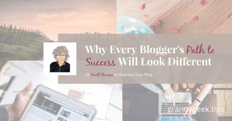 Success looks different for each blogger, and it's really easy to get caught in the trap of measuring your blog's success (or lack of) to some popular blogger. Don't. Instead, find your own key to growth! #success #bloggrowth #blogger #amwriting #growth