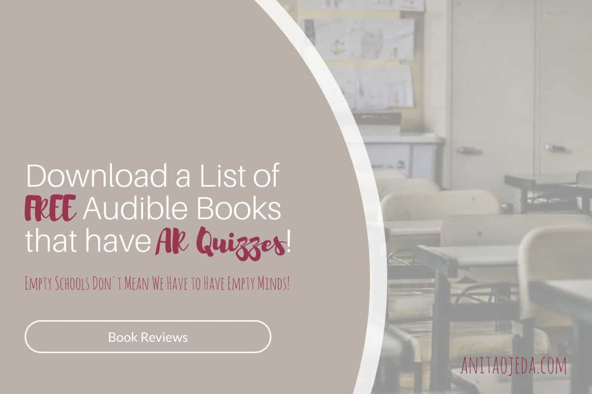 Whether you're a teacher who uses Accelerated Reader or a parent of a student whose school uses Accelerated Reader, you will find this list handy during the school closures and quarantines. #teacher #teacherresource #free #AcceleratedReader #RenaissanceLearning #Reading #freebooks #Audible #schoolclosure