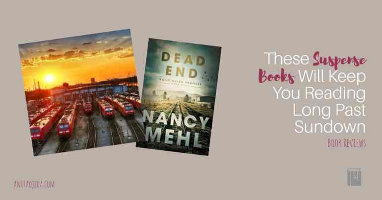 Edgy suspense stories from two of my favorite Christian authors. You'll want to read each book in one sitting. I dare you to stop! #amreading #bookreview #netgalley #christian #inspirational