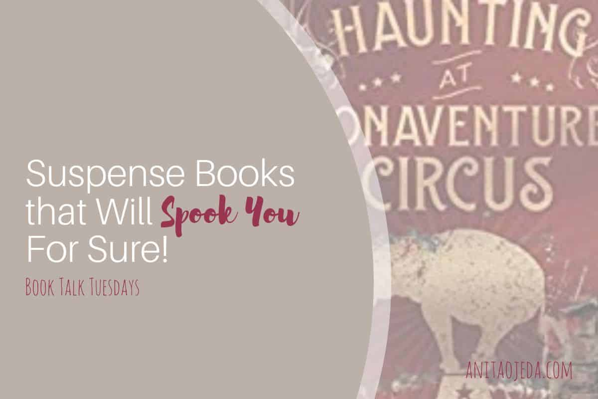 Looking for suspense books that will spook you (but not too much)? These two new releases kept me turning pages (and checking behind me) late into the night. #suspense #bookreview #amreading #Inspirational #christian