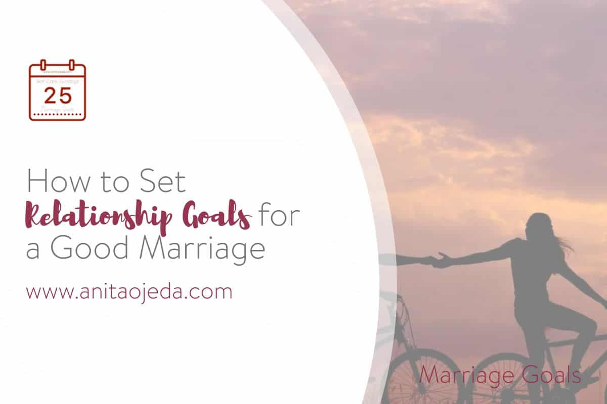 Working with your spouse to set relationship goals for your marriage can help you to avoid long-term disappointment and dissatisfaction. #relationshipgoals #maritalgoals #marriage #counselor #vision #selfcare #selfcarehacks #podcast