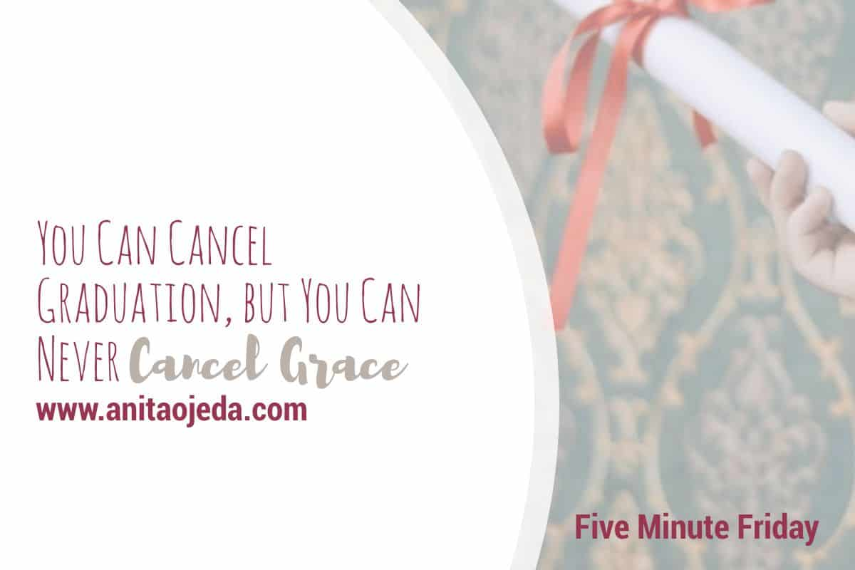 Who would have imagined that we'd have to cancel graduation when the second semester started in January of 2020. But no matter how strange the year has turned out, we've all learned a little about grace. #grace #community #church #graduation #cancel #plans #fmfparty