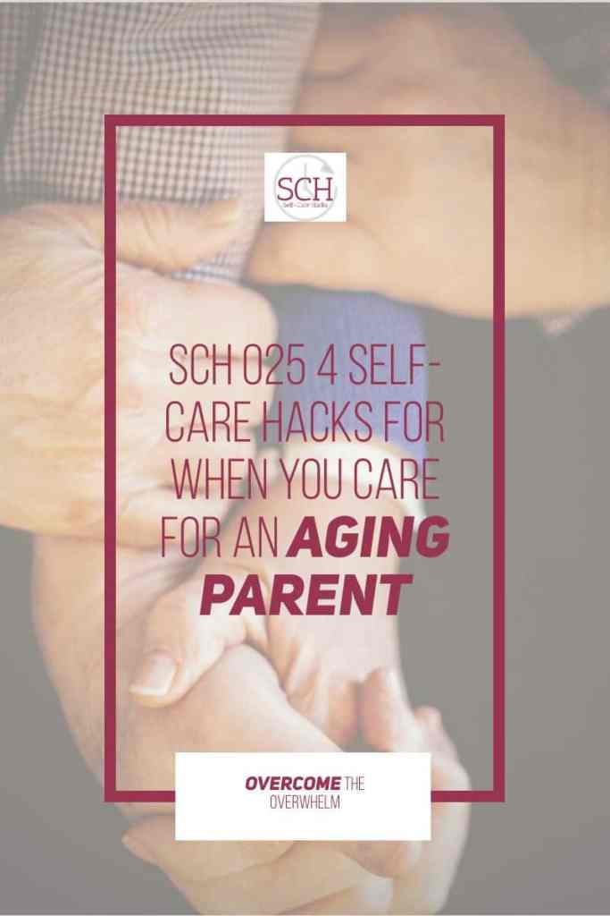 At some point in our lives, we'll probably be called on to care for an aging parent. And no matter how much our parent may plan ahead, caregiving will still take a toll on us. #caregiver #familycaregivermonth #selfcare #caregiverselfcare #selfcarehacks #podcast #elder #aging #parents #familycaregiver
