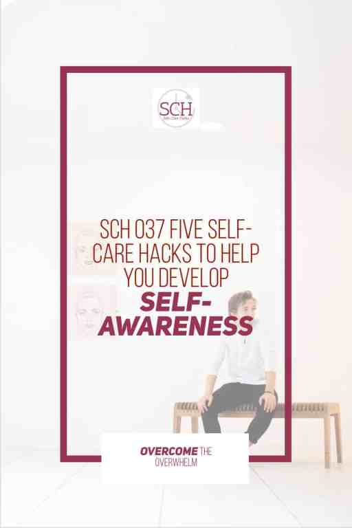 How self-aware are you? I recently discovered that my self-awareness wasn't all the great. Check out these five self-care hacks to help you develop your self-awareness.#selfcarehacks #selfcare #podcast #selfawareness #selfknowledge #growthmindset #podcaster #blogger