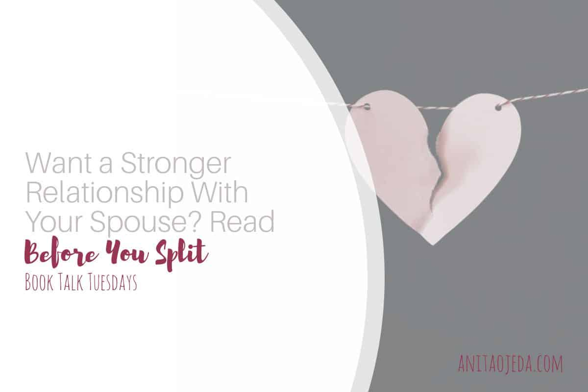 Wishing you had a stronger relationship with your spouse but don't know how to achieve it? Try reading Before You Split (even if you aren't thinking about divorce).#beforeyoursplit #relationships #marriage #strongerrelationsip #lawyersadvice #separation #divorce #cristian #noncristian #goodadvice #selfcare