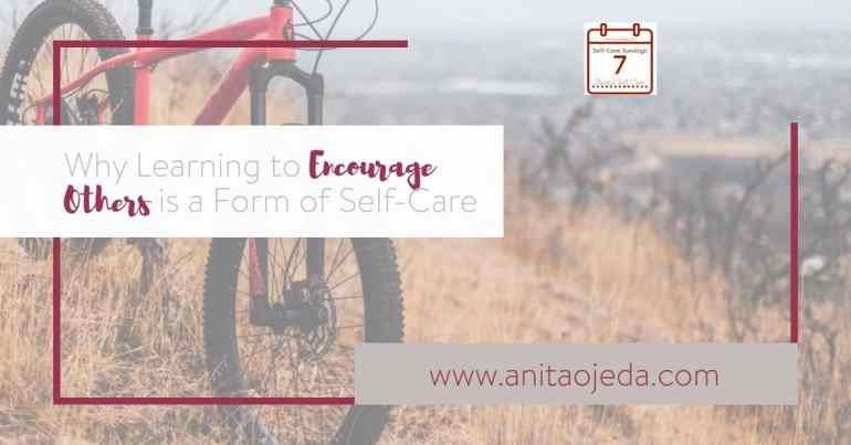 While I know it's important to encourage others, I don't feel very skilled in giving positive affirmations. How can we learn to encourage others when it feels weird? #encouragement #selfcare #teacher #students #parenting #mountainbiking #mentalhealth