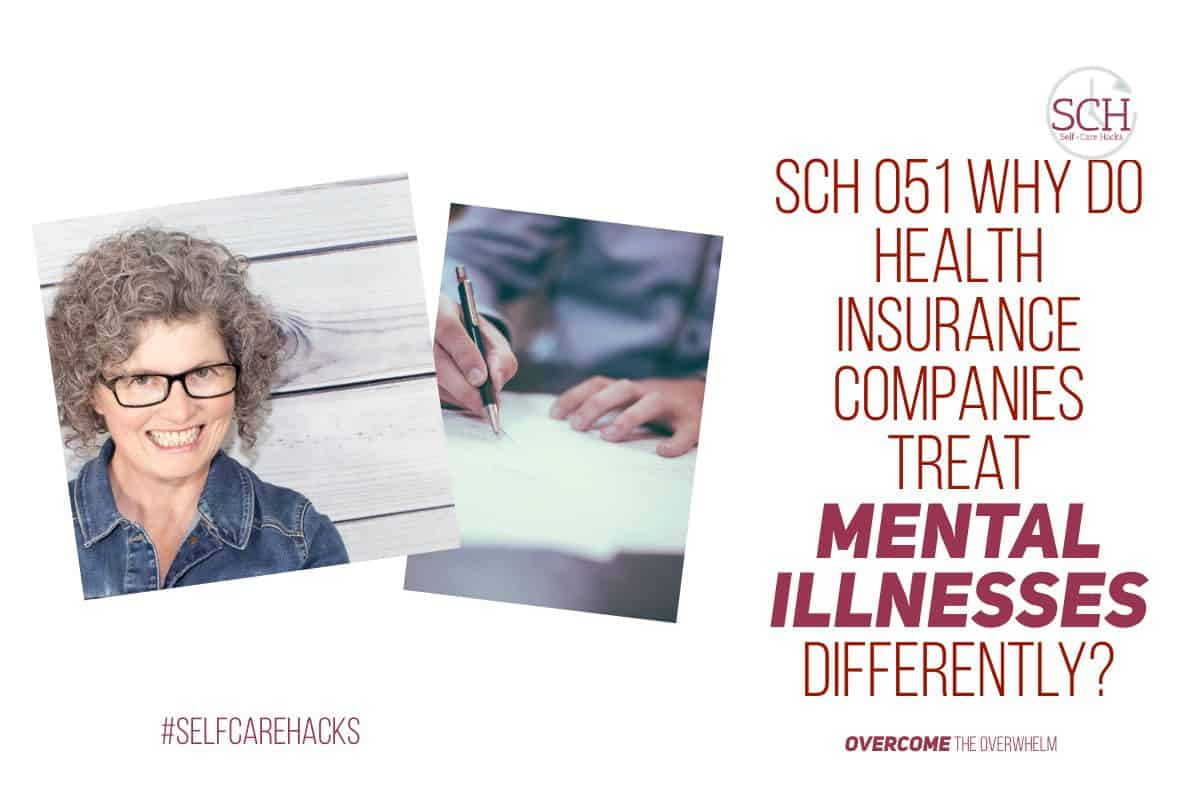 Health insurance companies treat mental illnesses differently from physical illnesses. How do I know? Our family has experienced both. The difference in our treatment was striking. Listen in to this imaginary conversation to see for yourself. #cancer #mentalillness #healthinsurance #NAMI #mentalhealthawarenessmonth #mentalhealthmonth #selfcarehacks #selfcare #podcast #bipolar #anxiety #depression
